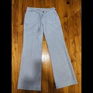 Old Navy Women's linen style pants Sz 2